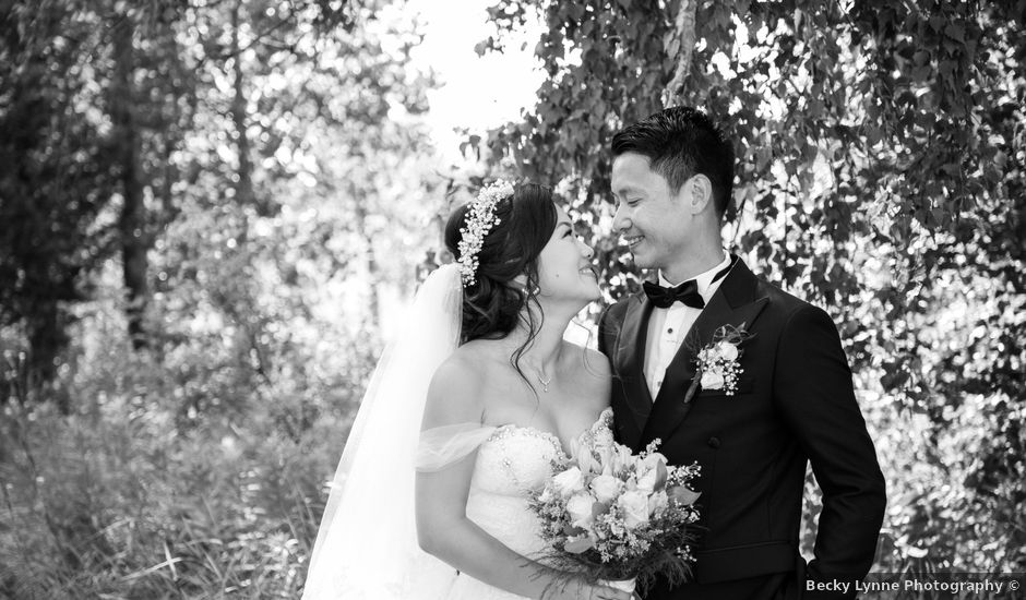 Meng and Jinyoung's wedding in Hamilton, Ontario