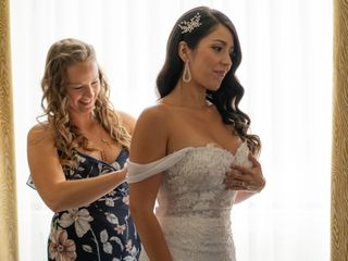 The wedding of Brad and Nicole 2