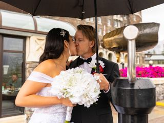 The wedding of Brad and Nicole