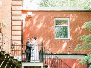 The wedding of Veronica and Corey