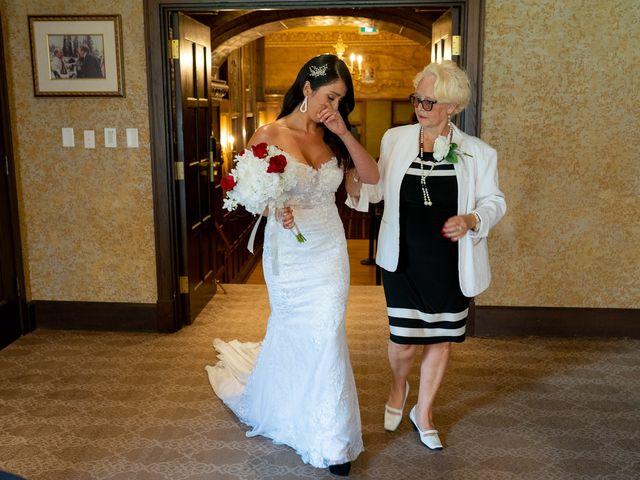 Nicole and Brad's wedding in Banff, Alberta 15