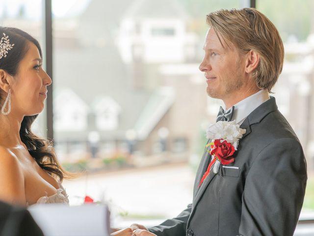 Nicole and Brad's wedding in Banff, Alberta 18
