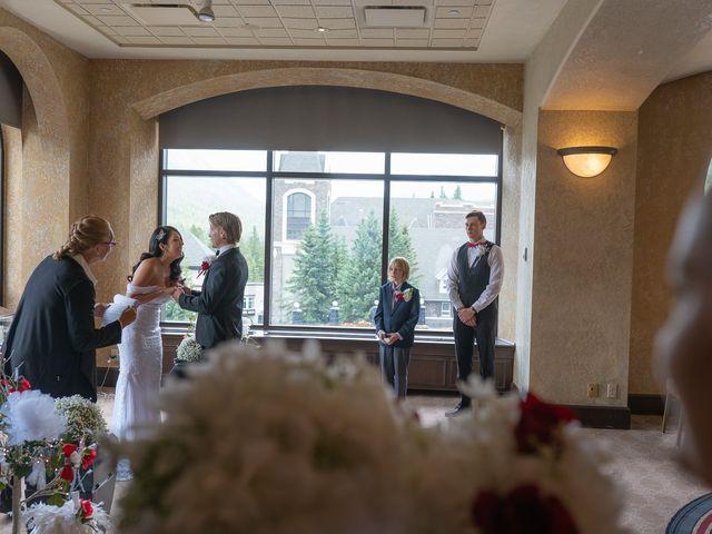 Nicole and Brad's wedding in Banff, Alberta 19