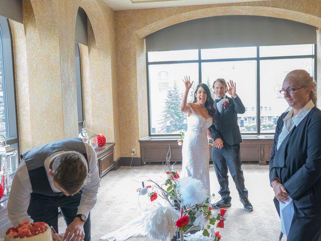 Nicole and Brad's wedding in Banff, Alberta 21