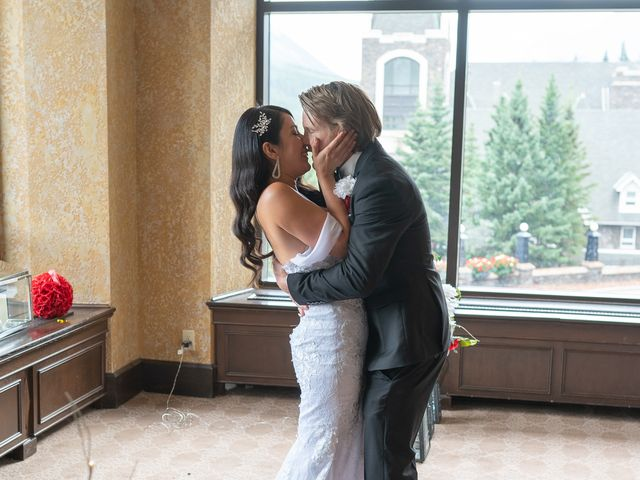 Nicole and Brad's wedding in Banff, Alberta 23