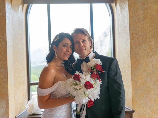 Nicole and Brad's wedding in Banff, Alberta 25