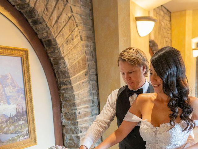 Nicole and Brad's wedding in Banff, Alberta 26