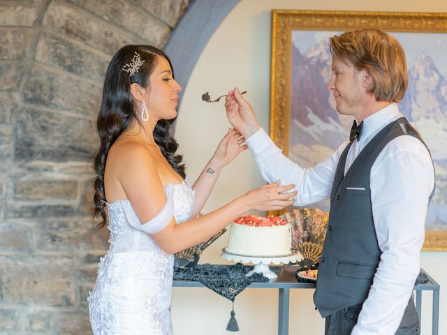 Nicole and Brad's wedding in Banff, Alberta 28