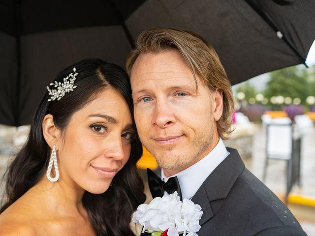 Nicole and Brad's wedding in Banff, Alberta 43