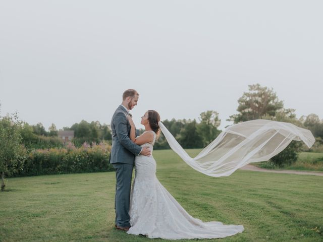 The wedding of Amy and Adam