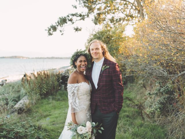 Spencer and Shasha's wedding in Sooke, British Columbia 2