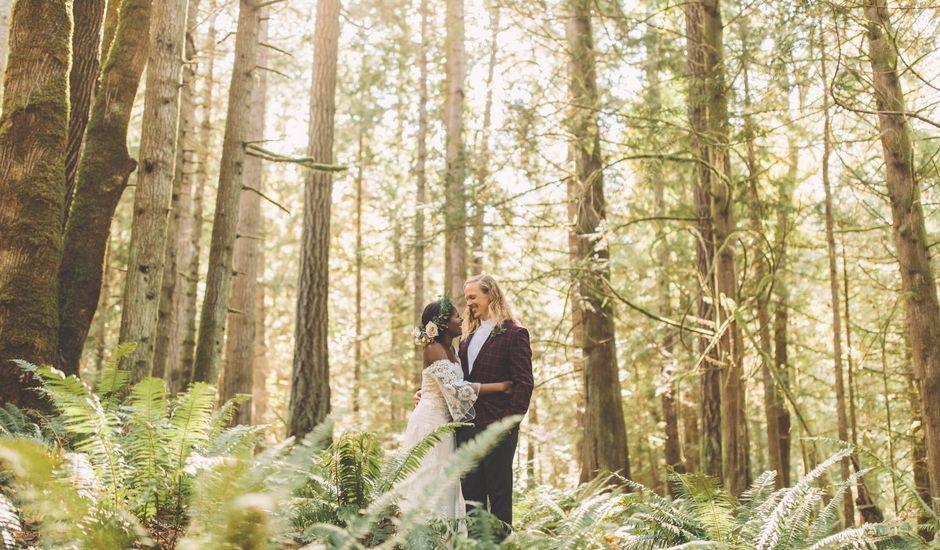 Spencer and Shasha's wedding in Sooke, British Columbia