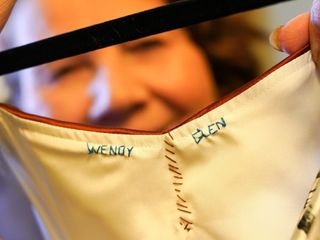 The wedding of Wendy and Glenn 1