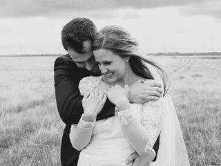 The wedding of Melissa and Brad