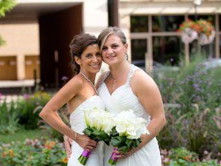 The wedding of Dorrie and Kellie