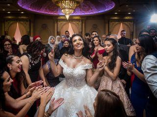 The wedding of Asma and Ahmad