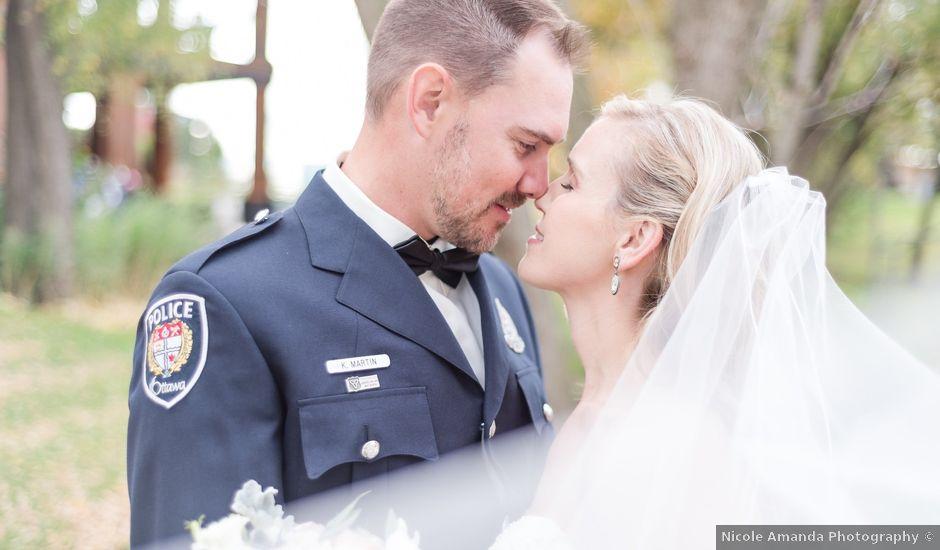 Keith and Joelle's wedding in Ottawa, Ontario