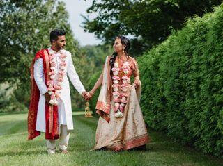The wedding of Farah and Sam