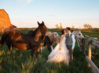 The wedding of Dalaney and Bonita