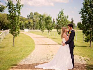 The wedding of Phaedra and Greg