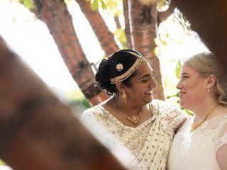 The wedding of Sithara and Jennifer 3