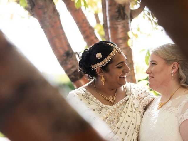 Jennifer and Sithara's wedding in Edmonton, Alberta 5