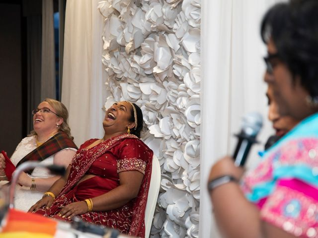 Jennifer and Sithara's wedding in Edmonton, Alberta 7
