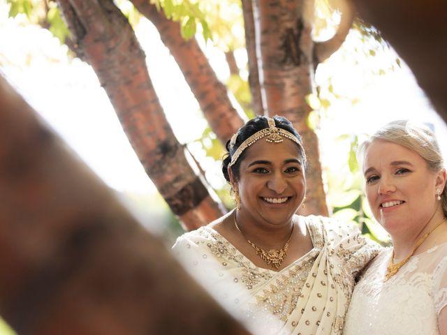 Jennifer and Sithara's wedding in Edmonton, Alberta 8