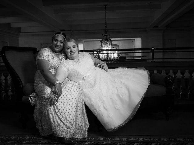 Jennifer and Sithara's wedding in Edmonton, Alberta 10