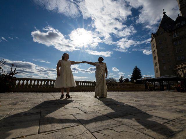 Jennifer and Sithara's wedding in Edmonton, Alberta 1