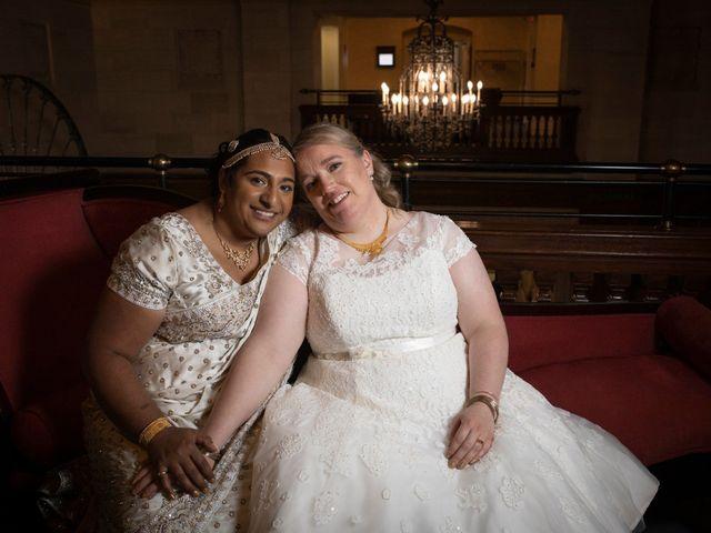 Jennifer and Sithara's wedding in Edmonton, Alberta 2