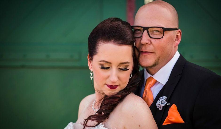 Eric and Jackie's wedding in Edmonton, Alberta