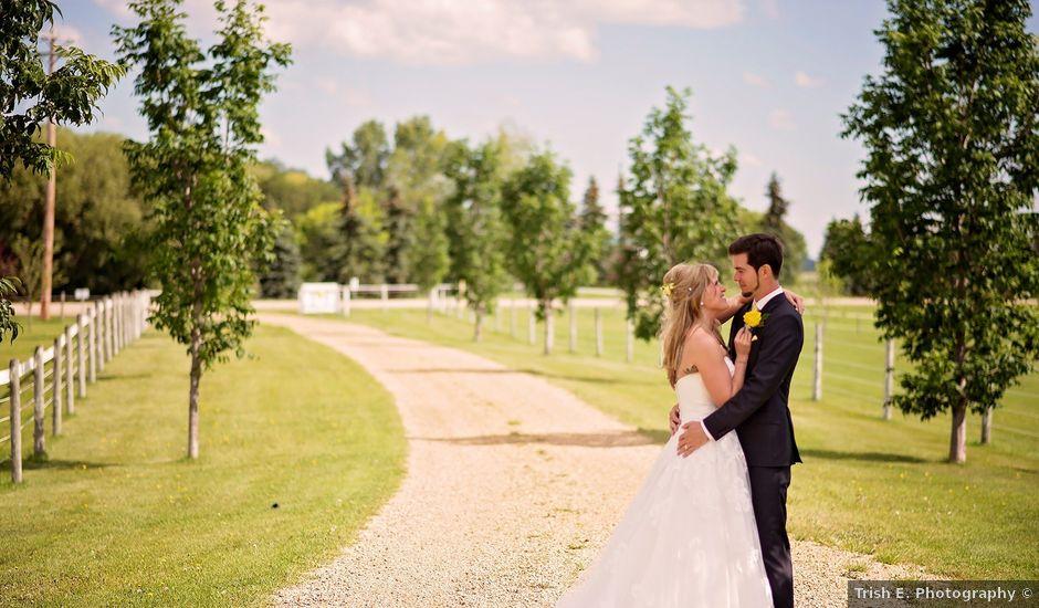 Greg And Phaedra's Wedding In Wetaskiwin, Alberta