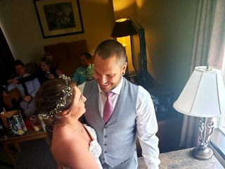 The wedding of Melissa and Kyle 1
