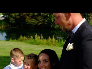 The wedding of Sarah and Chris 1