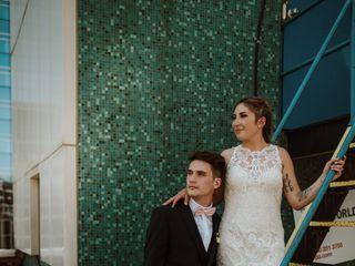 The wedding of Danielle and Merrik