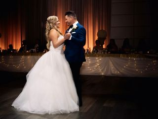 The wedding of Danielle and Christopher