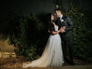 The wedding of Nassrine and Zeyad