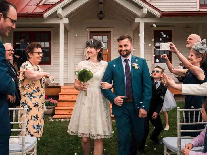 The wedding of Gloria and Jason