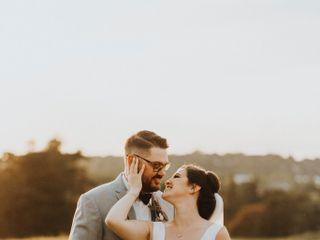 The wedding of Elizabeth and Adam