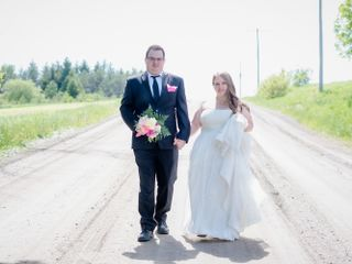 The wedding of Kaighley and Eric