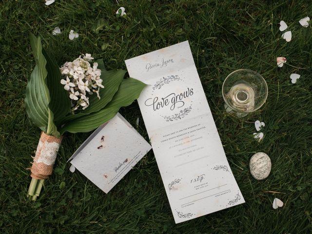 Jason and Gloria's wedding in Otterburn Park, Quebec 2