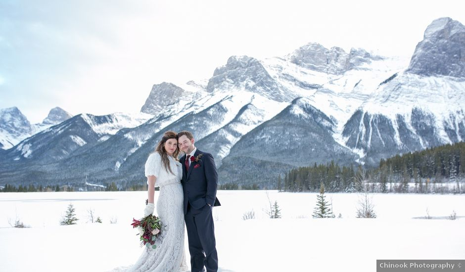 Mike And Jen's Wedding In Canmore, Alberta