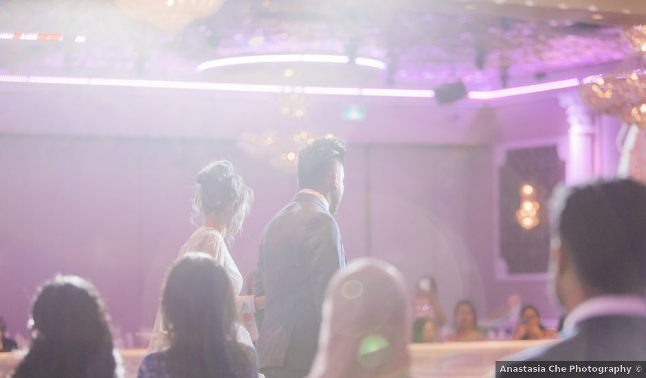 Sameed and Filza's wedding in Vancouver, British Columbia