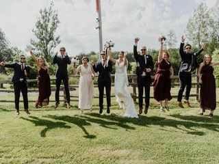 The wedding of Cassie and Ben