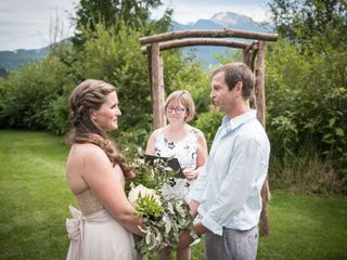The wedding of Sarah and Tyler