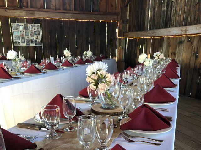 Ben and Cassie's wedding in Huntsville, Ontario 4