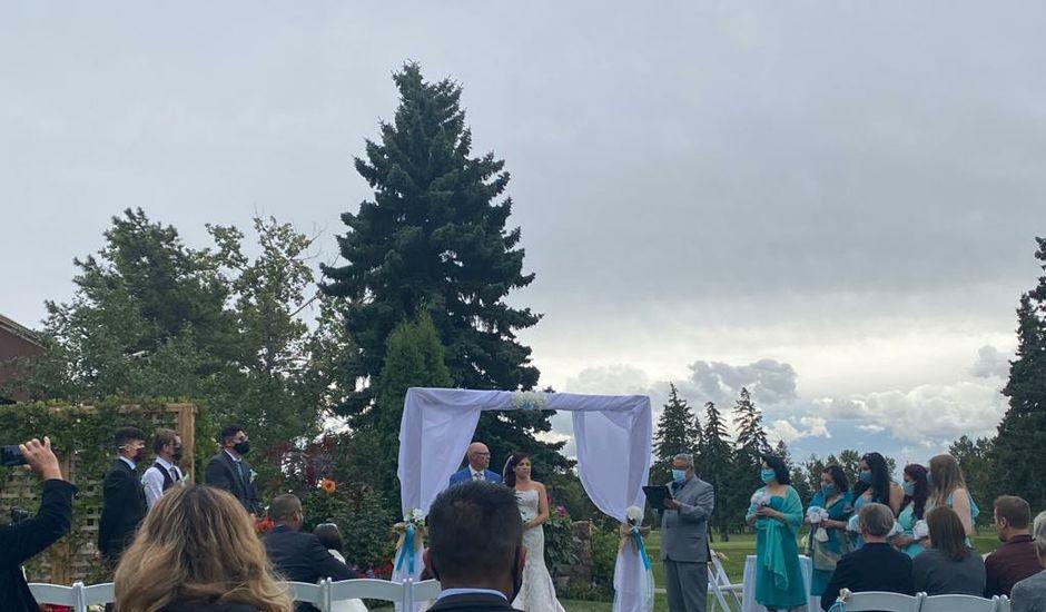 Warren and Lorena 's wedding in Edmonton, Alberta