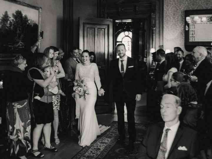 The wedding of Stefania and Colin