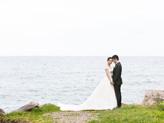 The wedding of Angela and Isaac